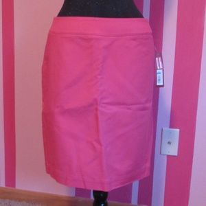 Coral Pencil Skirt : NWT